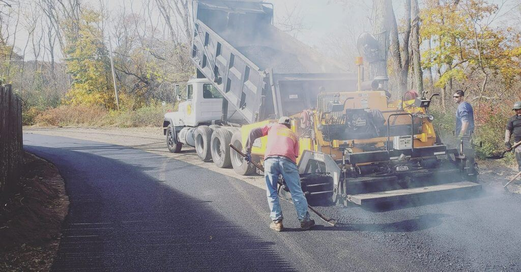 J Perry Paving - Paving Professionals Working